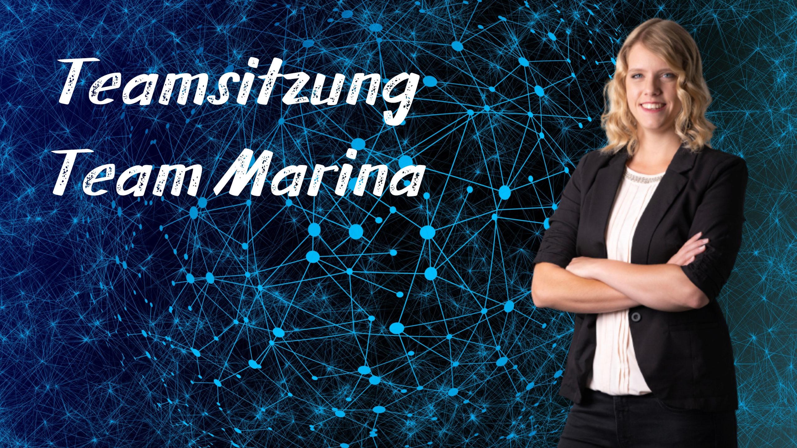 Teamsitzung Team Marina Fischler